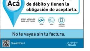 La AFIP lanza un sistema de «fotodenuncias»contra comercios que no acepten tarjetas de débito